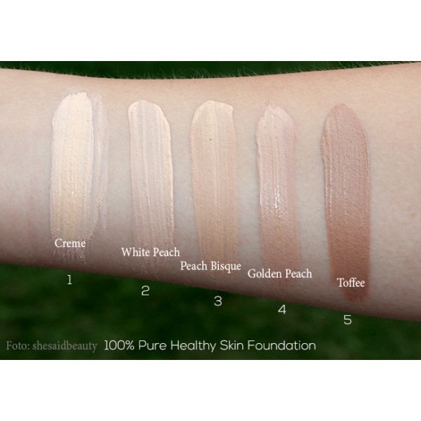 Healthy skin foundation with Super fruits SPF20 (full coverage ...