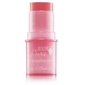 Natūralūs lūpų / skruostų skaistalai - Shimmery Strawberry
