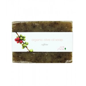 Caffeine Organic Olive Oil Soap