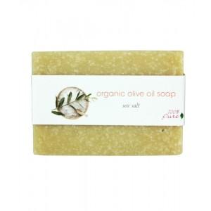 Alyvuogių aliejaus muilas - Jūros druska