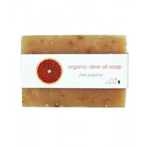Pink Grapefruit Organic Olive Oil Soap