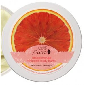 Natūralus išsuktas kreminis kūno sviestas - Raudonųjų apelsinų