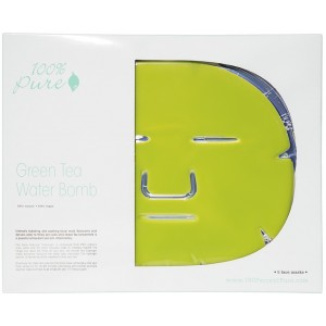 Green Tea Water Bomb Mask (5 pack)