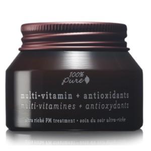 Multi-Vitaminų + Antioksidantų koncentruotas naktinis veido kremas