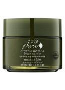 Ekologiškos Matcha arbatos odą glotninantis veido šveitiklis su atioksidantais