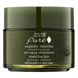 Matcha arbatos odą lyginantis veido šveitiklis su atioksidantais