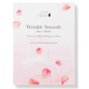 Lyginanti raukšles korėjietiška Bambukų pluošto veido kaukė - Wrinkle Smooth (5vnt dėžutė)
