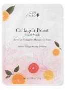 Skatinanti kolageno gamybą Bambukų pluošto veido kaukė - Collagen Boost