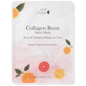 Skatinanti kolageno gamybą korėjietiška Bambukų pluošto veido kaukė - Collagen Boost