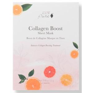 Skatinanti kolageno gamybą korėjietiška Bambukų pluošto veido kaukė - Collagen Boost (5vnt dėžutė)