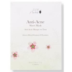 Antibakterinė korėjietiška veido kaukė nuo spogų - Anti Acne (5vnt dėžutė)