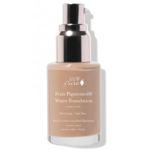 Full Coverage Fruit pigmented Water foundation (hydration + antioxidants)