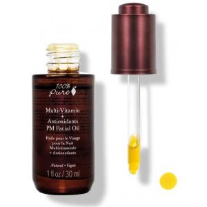 Multi-Vitaminai + Antioksidantai koncentruotas naktinis veido aliejukas