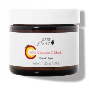 50% Vitamino C veido kaukė