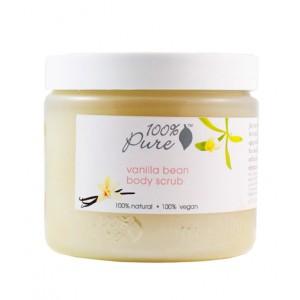Natūralus maitinantis vanilės kūno šveitiklis