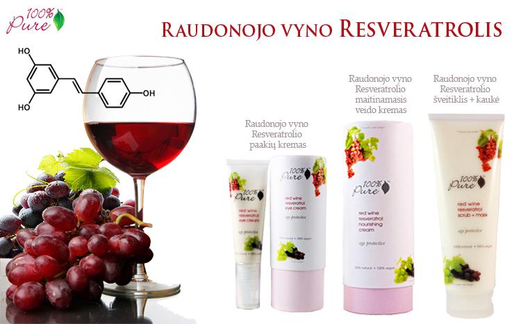Raudonojo vyro resveratrolis ir jo savybės
